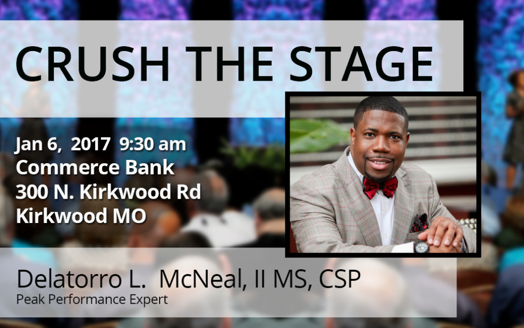 Jan 6th – Crush The Stage