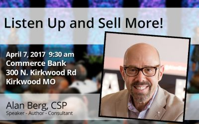 Listen Up and Sell More!