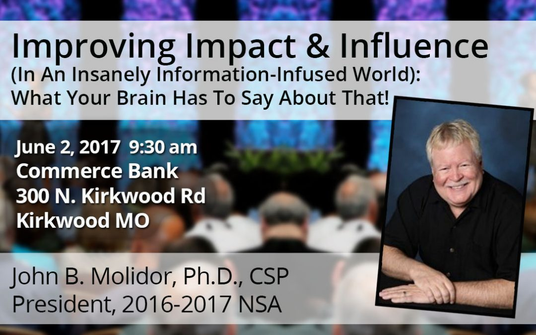 June 2 – Improving Impact & Influence