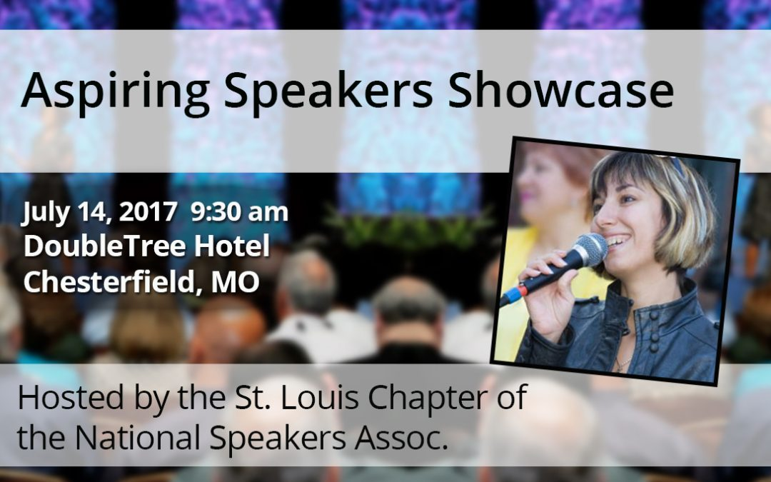 July 14 – Aspiring Speaker Showcase