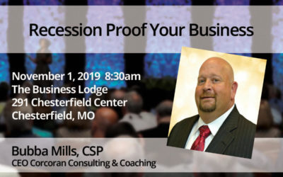 Nov. 1 – Bubba Mills: Recession Proof Your Business