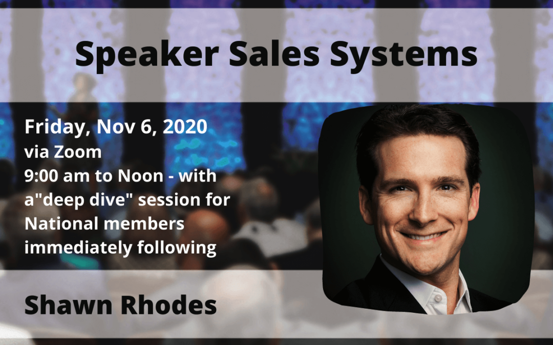 NSA St. Louis November speaker Shawn Rhodes