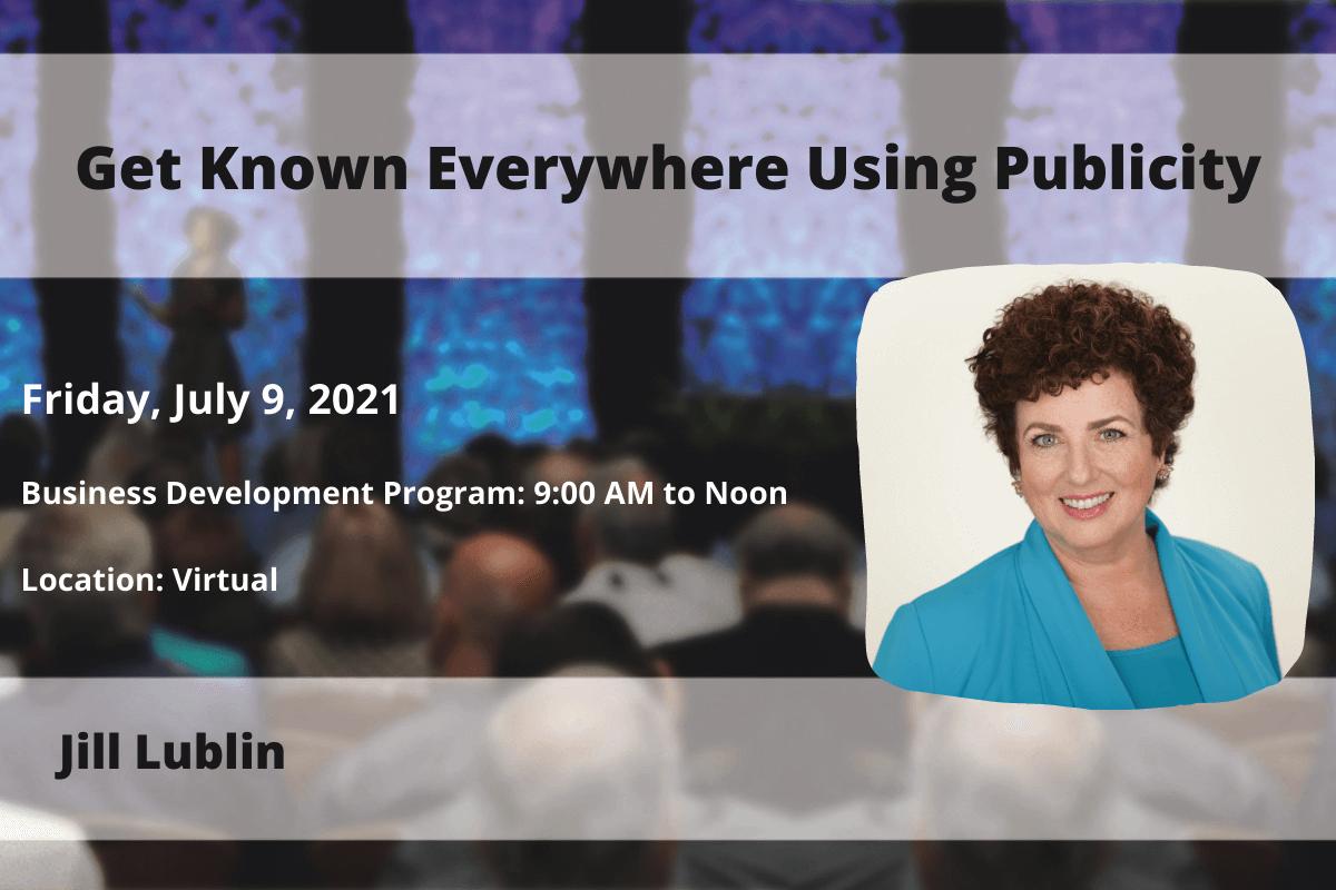 NSA St. Louis Speaker Jill Lublin - July 2021